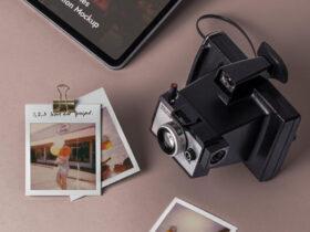 Free Polaroid Mockup Frames PSD