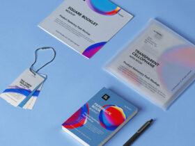 Free Product Stationery Mockup Set PSD