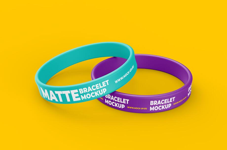 Free Thin Bracelet Mockup PSD Template