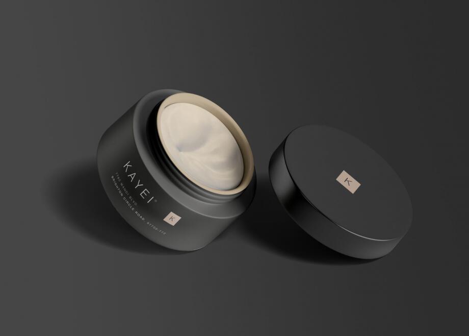 Free Cosmetic Jar Mockup PSD Template