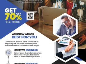 Free Digital Marketing Agency Flyer PSD Template