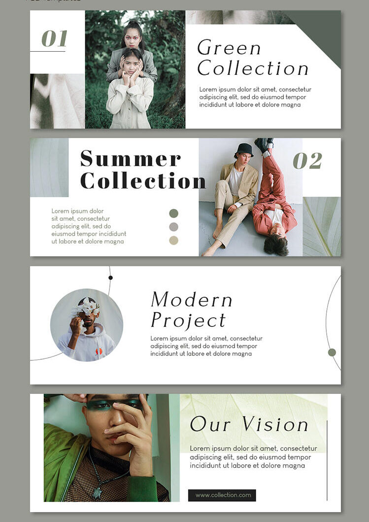 Free Facebook Fashion Cover PSD Template