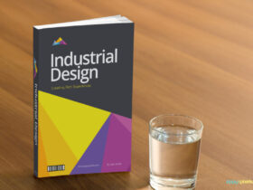 Free Book Cover PSD Mockup Template