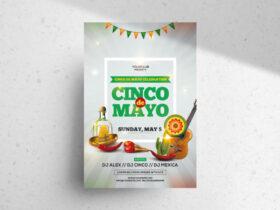 Free Cinco de Mayo PSD Flyer Template