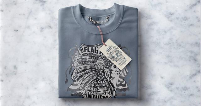 Free Folded Sweatshirt Mockup PSD Template
