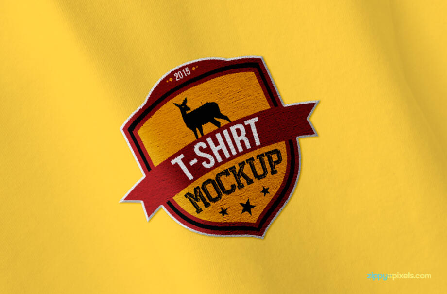 Free T Shirt Mockup PSD Template