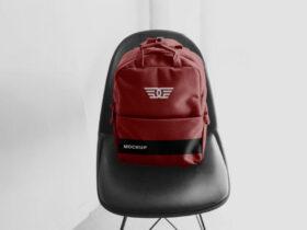 Free Backpack Mockup PSD Template