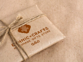 Free Craft Packaging Mockup PSD Template