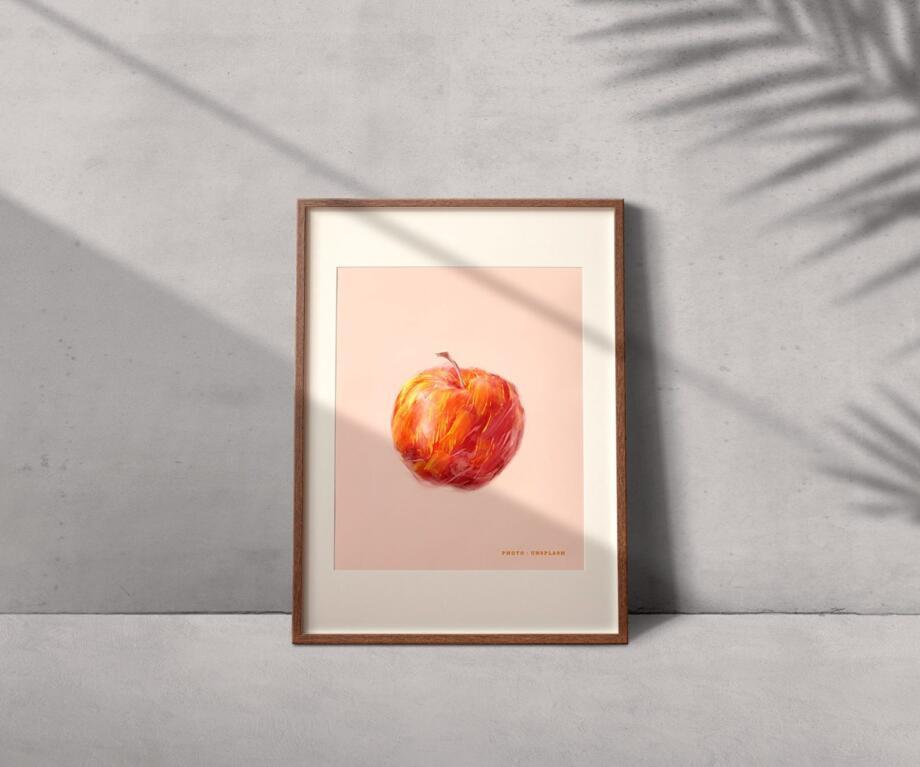 Free Photo Frame Mockup PSD Template
